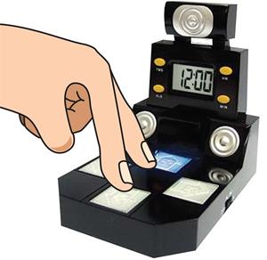 fingerdancetimeoclock